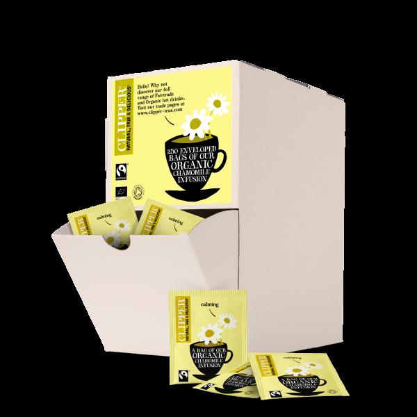 chamomile string and tag tea