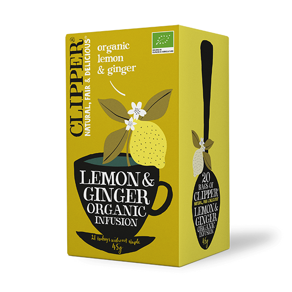 Lemon and Ginger Infusion